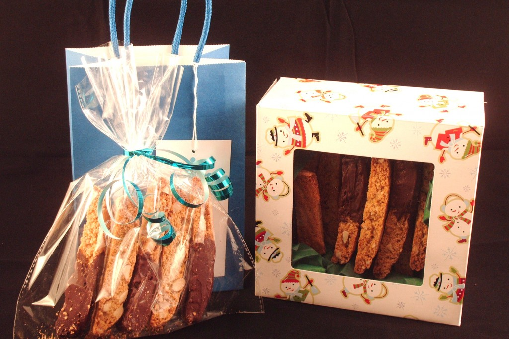 whole wheat orange almond biscotti